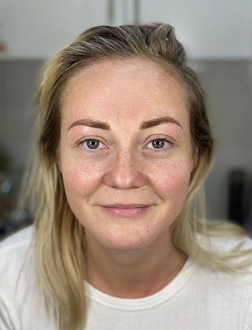 sydney microblading service after