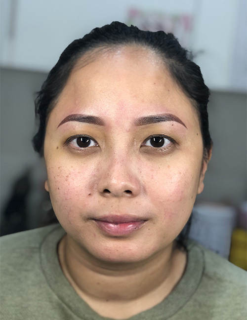 After photo image microblading (2)