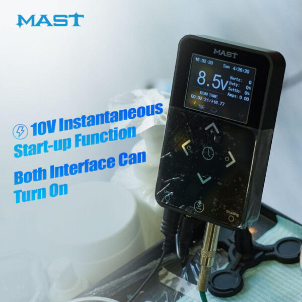 Dragonhawk Mast Touch Power Supply 3.42A Start-up Function with Dual Connect OLED Screen (10)