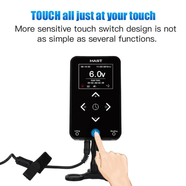 Dragonhawk Mast Touch Power Supply 3.42A Start-up Function with Dual Connect OLED Screen (3)