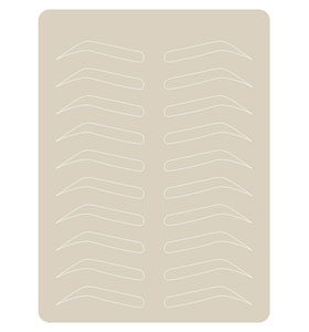 Inkless Microblading Practice Latex 1